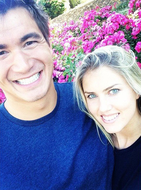 Nathan Adrian with Girlfriend Natalie Coughlin