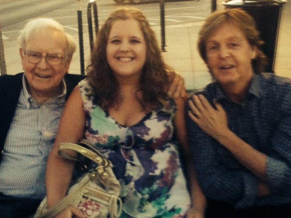 Nebraska Teen Sneaks Photo With Paul McCartney and Warren ...
