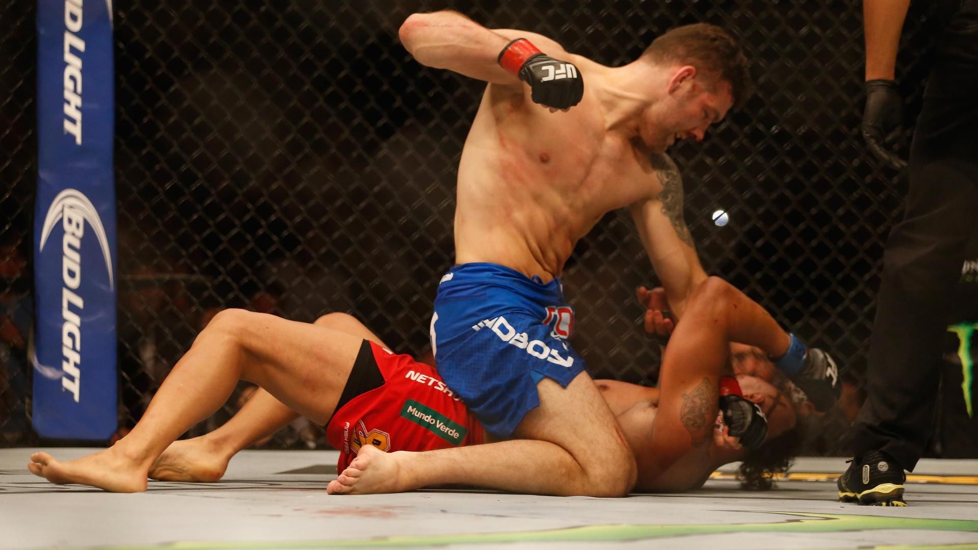 LAS VEGAS -- A UFC middleweight title fight more than one year in the ...