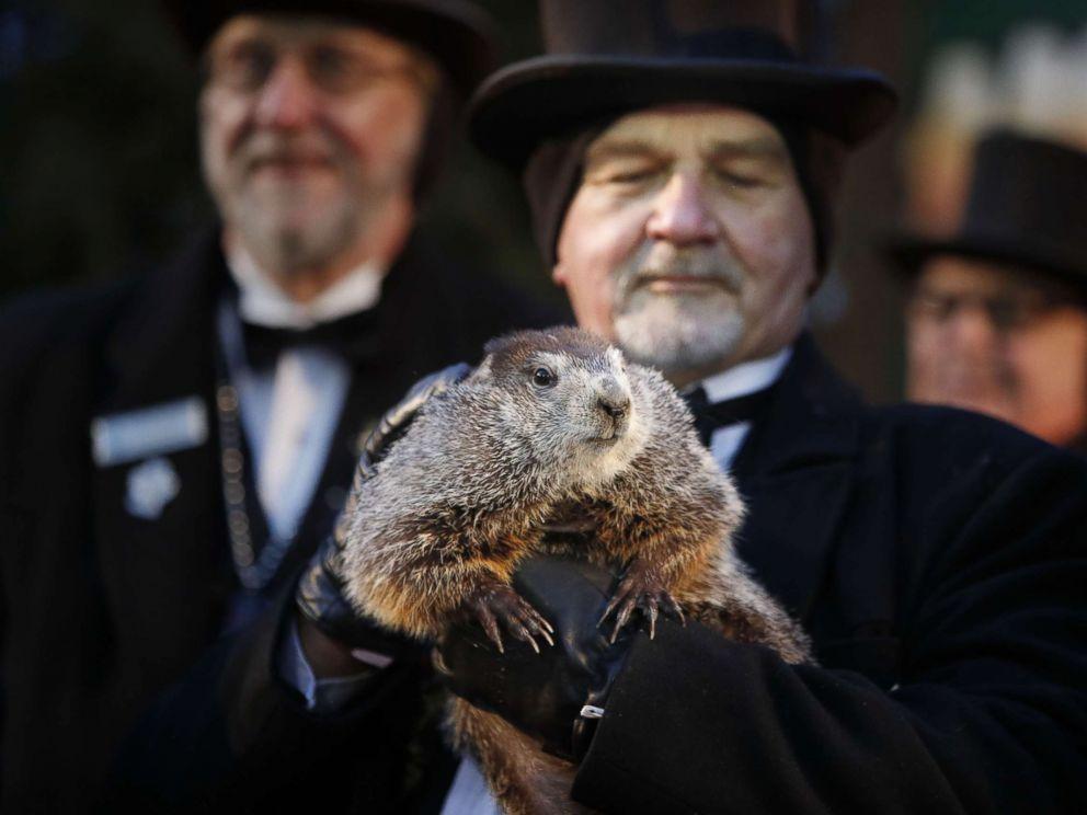 Groundhog Day 2018: Punxsutawney Phil sees shadow, six ...