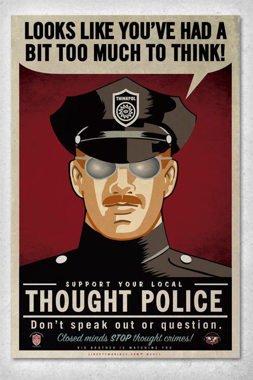 Thought Police | a12iggymom's Blog