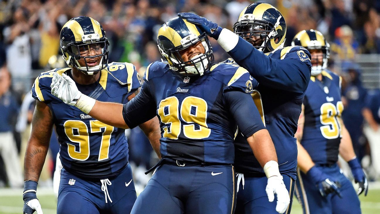 Rams DT Aaron Donald stakes claim as PFF's best player in 2015 - St ...