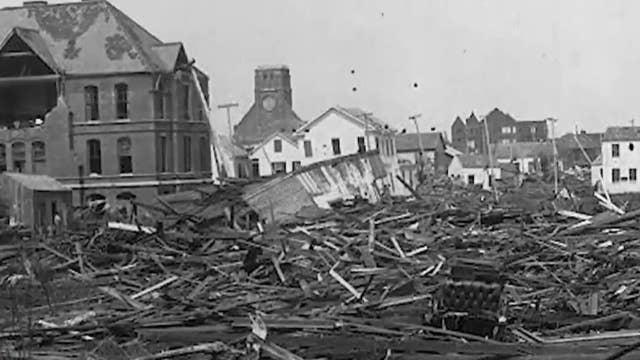 A look back at the devastating 1900 Galveston hurricane ...