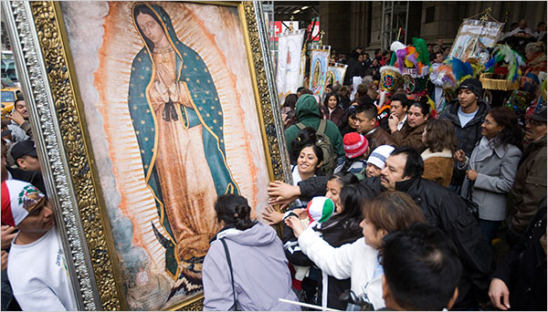 Mexico Celebrates Our Lady of Guadalupe * Belated Blessings