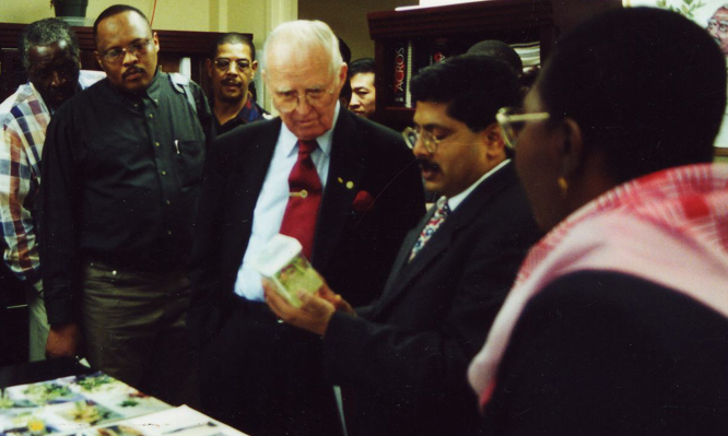 Norman Borlaug Visits Tuskegee University's Center for ...