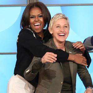 Michelle Obama and Ellen DeGeneres Break It Down to Mark ...