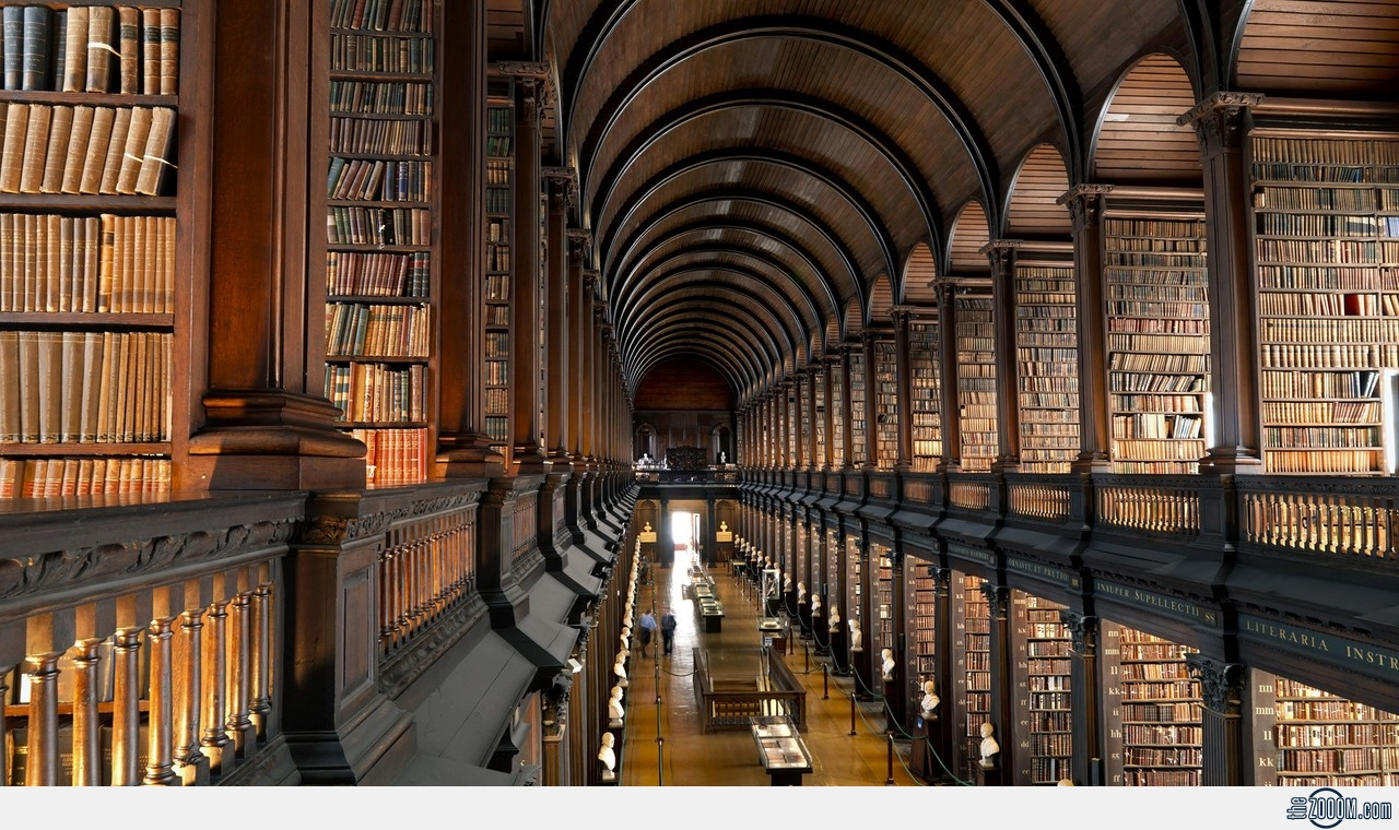 Image: Dublin Library. The WSRL is a humble and intimate gathering ...