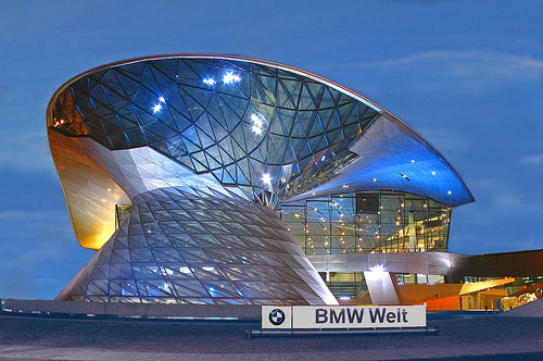 BMW Welt, Munich – BMW's lead over Audi and Mercedes continues to narrow