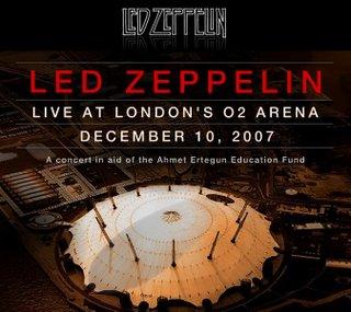 Led Zeppelin's 2007 Reunion Concert Rumored For Dvd ...