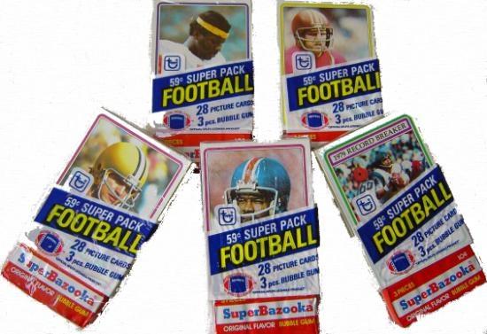 1980 Topps Football Super Cello Box   DA Card World