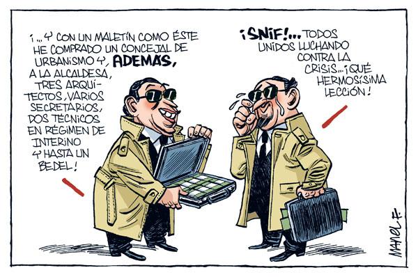 CORRUPCIÓN POLÍTICA   CORRUPCIÓN: POLÍTICA, URBANISMO Y SANIDAD