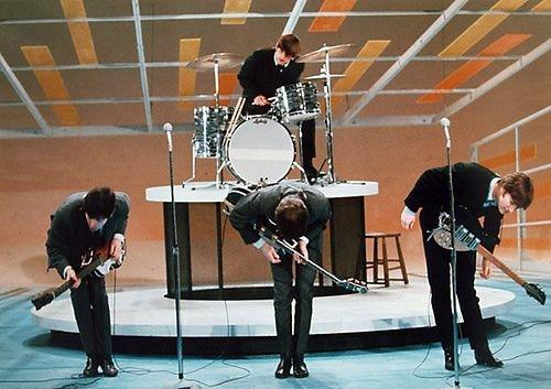 Beatles at Ed Sullivan Show - Photo Gallery - The Beatles