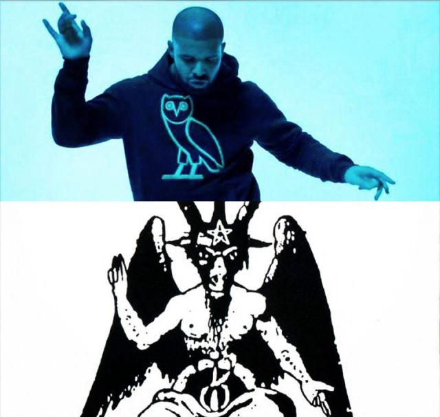 Drake Illuminati As Above So Below Baphomet Lilith ...