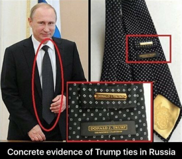 Dems: please list all of Trump's ties to Russia here ...