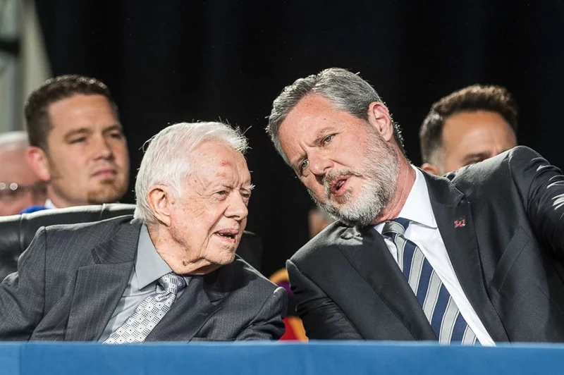 Jerry Falwell Jr., Jimmy Carter, and Liberty University ...