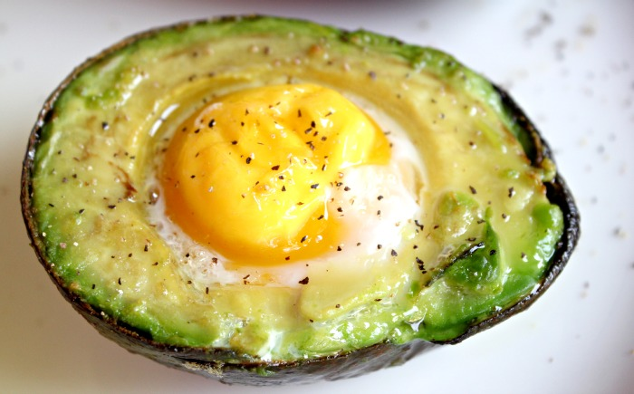 ... one you may not have thought of, yet. I call it- Baked Egg in Avocado