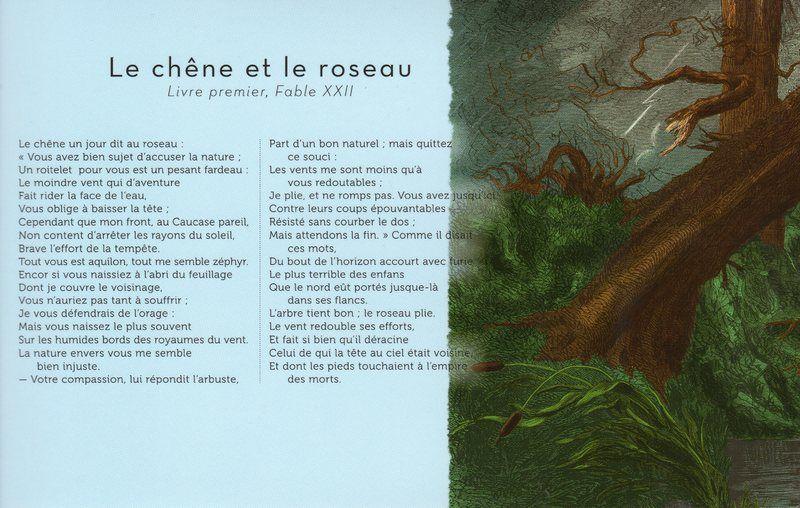 """""""Le chêne et le roseau"""" Jean de La Fontaine"""