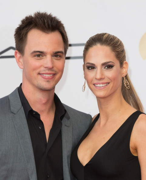 Darin Brooks with Wife Kelly Kruger