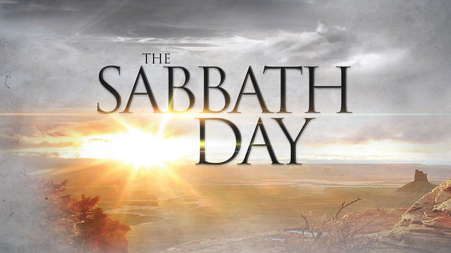 Sabbath Day - Calvary Presbyterian Church