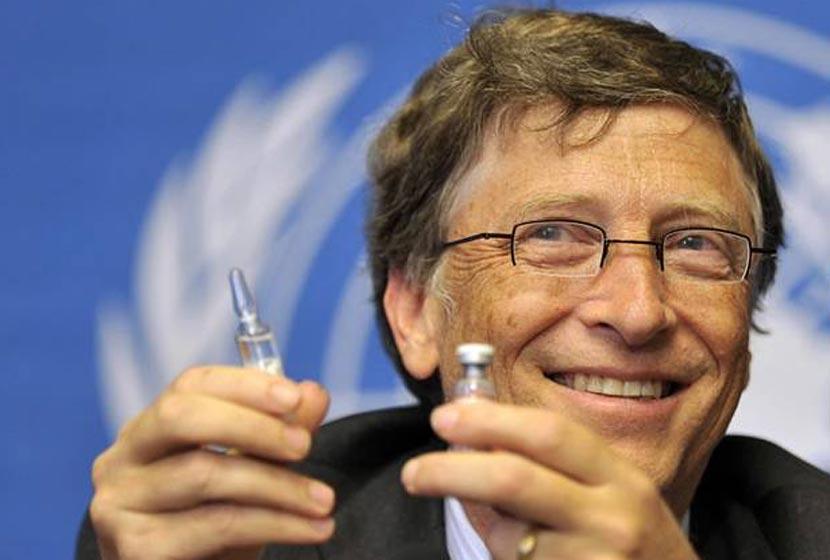 """Bill Gates pide Nuevo Orden Mundial para """"salvar la tierra ..."""