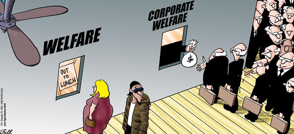 corporate welfare | BrownGirlsCONNECT