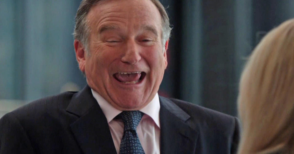 """Robin Williams on his role in CBS' """"The Crazy Ones ..."""