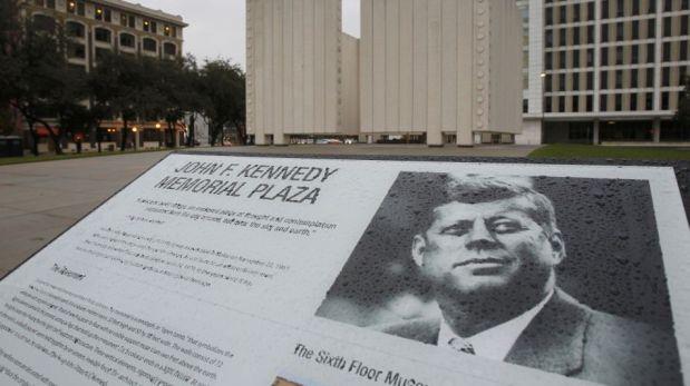 50 años de la muerte de JFK: estadounidenses visitan la tumba de su ...