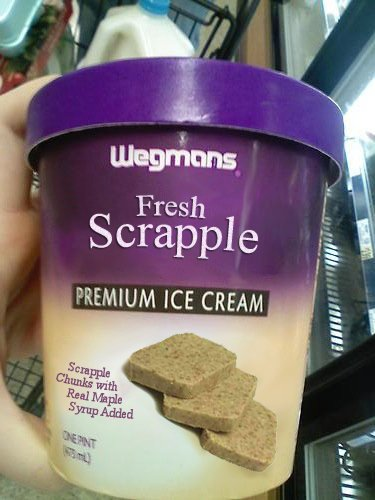 Fresh scrapple ice cream from Wegmans: is your mouth watering, or are ...