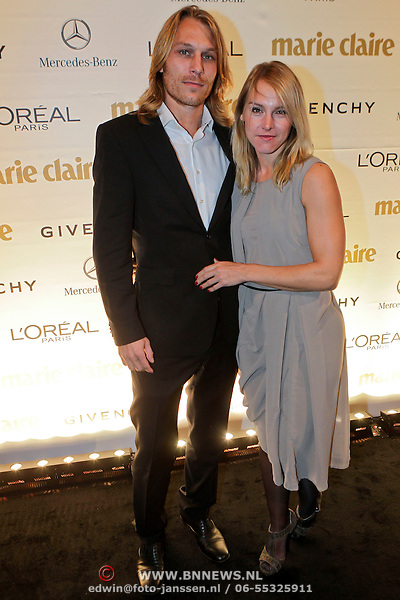 Wende Snijders with Boyfriend Rene Sommer