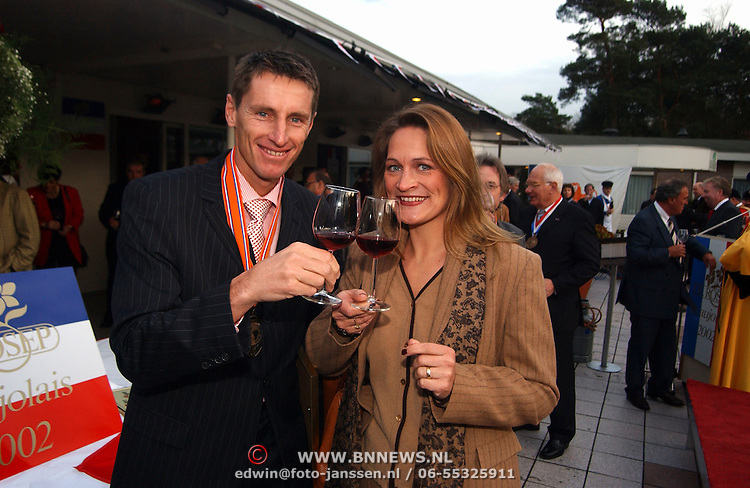 Paul Haarhuis with Wife Anja Spijker