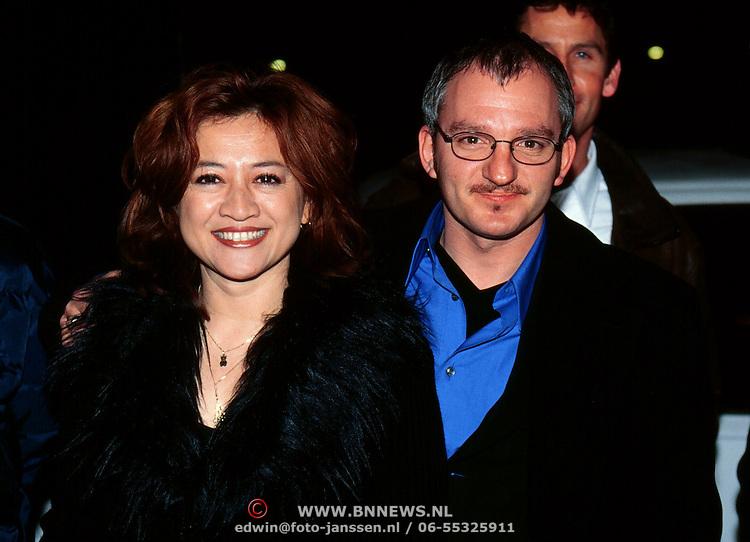 Jeroen van Inkel with Wife Sandra Dinsbach