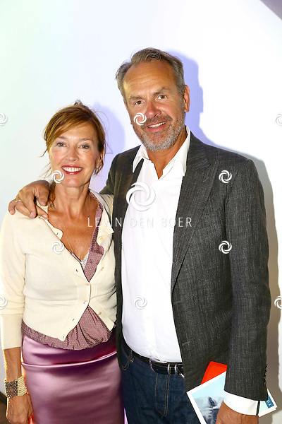 Bert Kuizenga with Wife Astrid Teuwen