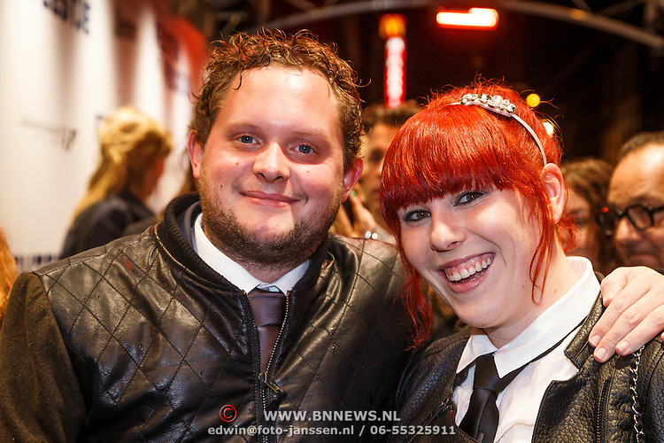 Diederik Jekel with Girlfriend Coosje Smid