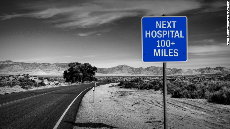 As rural hospitals close, millions of Americas live ...