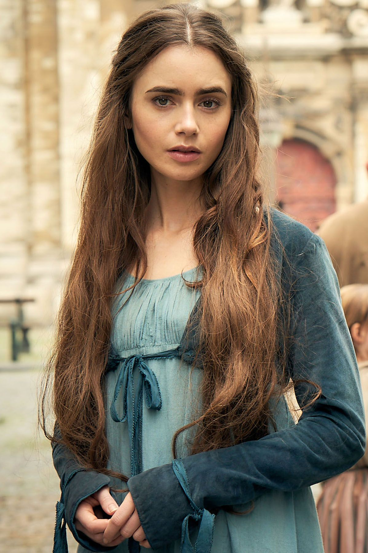Lily Collins on Les Miserables, Playing Fantine, and ...