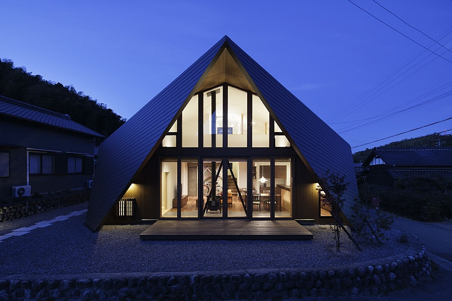 Creative Origami House In Japan Combines A Distinct ...