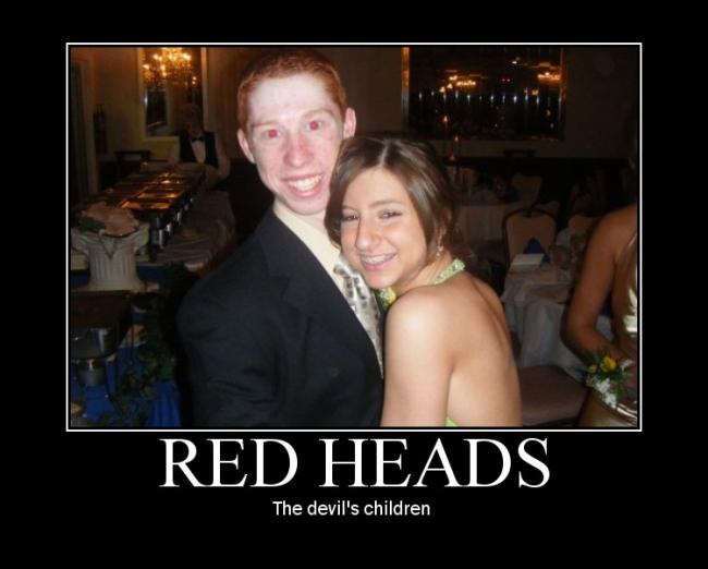 RedHeads Are evil - Picture | eBaum's World
