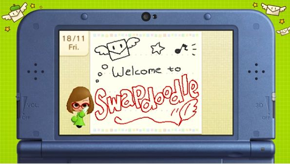 Swapdoodle Just Launched For 3DS, Is Totally Not Swapnote ...