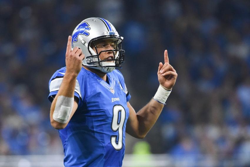 16, 2016; Detroit, MI, USA; Detroit Lions quarterback Matthew Stafford ...