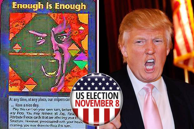 Donald Trump: Hombre orquesta y elefante de Norteamerica? Union de psicografias ?u=http%3A%2F%2Fcdn.images.dailystar.co.uk%2Fdynamic%2F1%2Fphotos%2F765000%2Filluminati-card-game-donald-trump-assassination-fears-709765