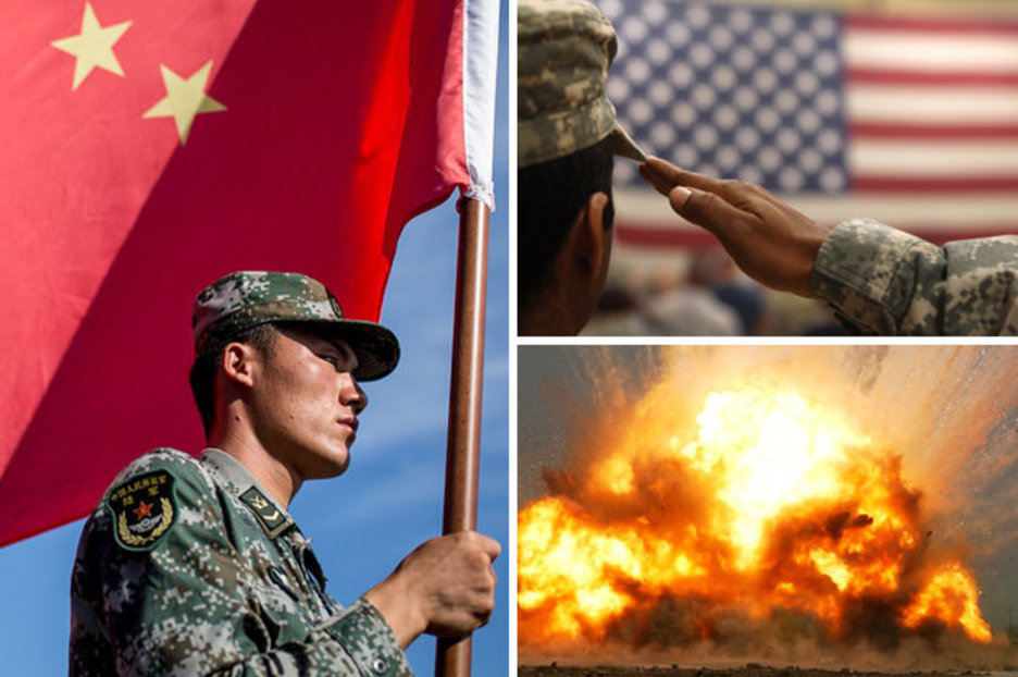 World War 3 build-up: US and China armies are preparing war which could cripple world | Daily Star