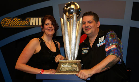 Gary Anderson with Kone Rachel Ford