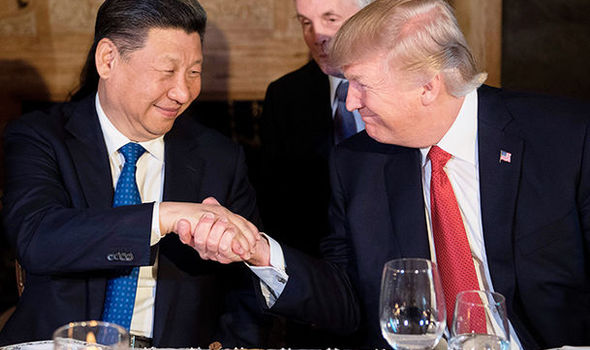 Trump expects 'GREAT FRIENDSHIP' with Chinese president Xi ...