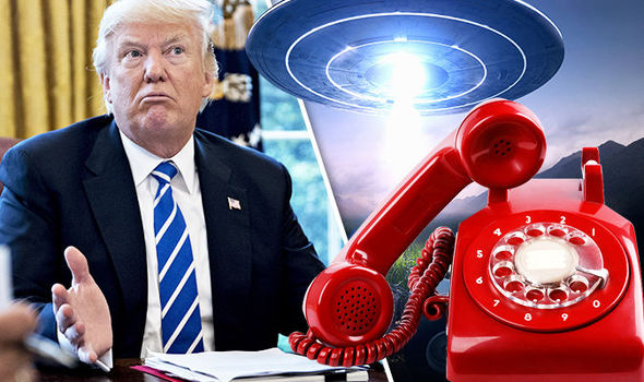 UFO NEWS: Why President Trump's VOICE hotline has been ...