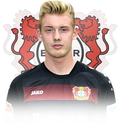 Den 22-år gammal, 183 cm lång Julian Brandt in 2018 photo