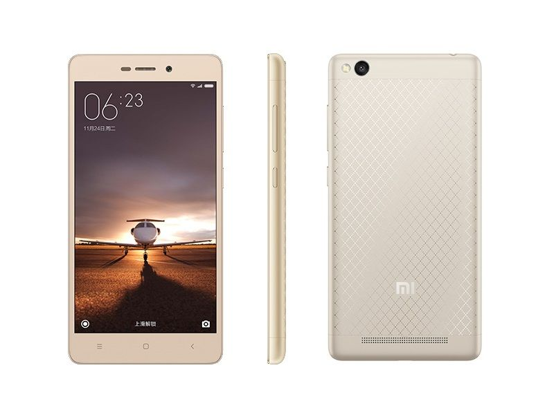 Xiaomi Redmi 3 With 4100mAh Battery, 5-Inch Display ...