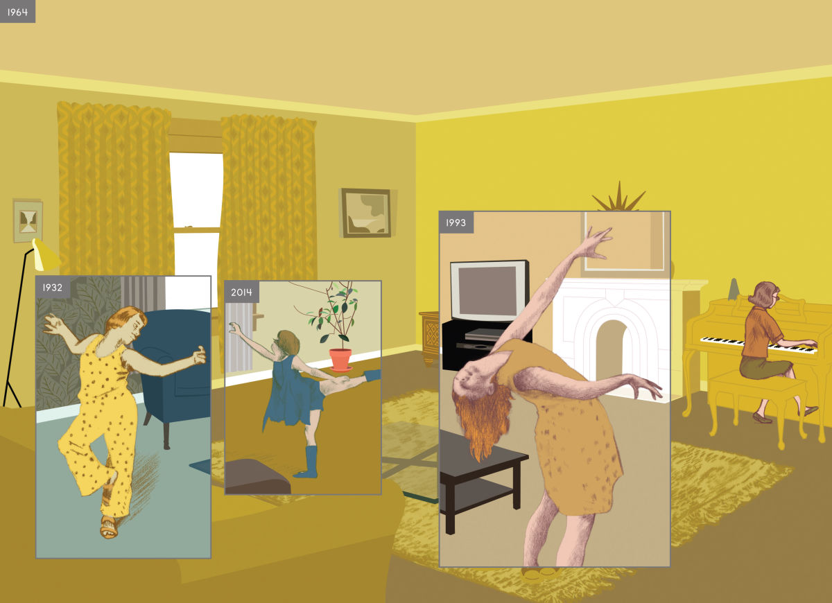 Here by Richard McGuire Review :: Comics :: Reviews :: Paste