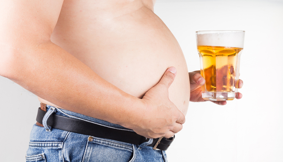 Yikes: Having a Beer Belly Seriously Ups Risk of Death, New Research ...