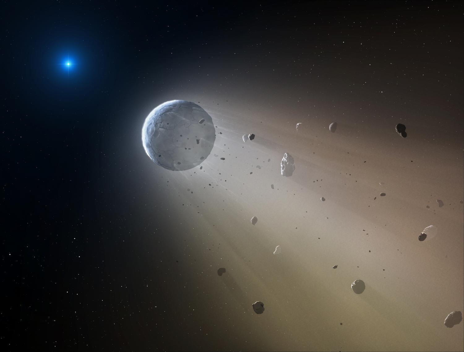 Evidence of an Alien Planet Spotted Around a White Dwarf, a Cosmic First…