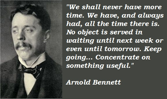 Arnold Bennett's quotes, famous and not much - QuotationOf ...